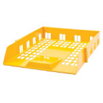 Viking Letter Trays Yellow 50 x 260 x 360 mm