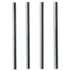 95mm Riser RoDS  Steel  Pack 4