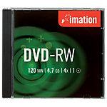 10 Stück Imation DVD+RWs in Spindel 4.7 GB 120 Min.