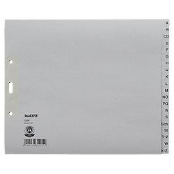 Papier-Register 1200 DIN A4 Überbreite (halbe Höhe) Grau 20-teilig Tauenpapier A - Z
