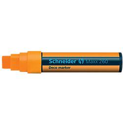 Deco-Marker 260 Keilspitze 2,0 - 15,0 mm Orange