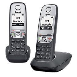 DECT Telefon A415 DUO Schwarz