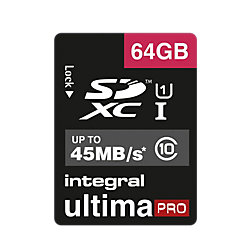 SDHC Speicherkarte Ultima Pro High Speed 64 GB