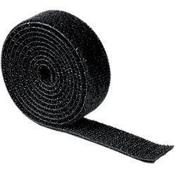 Klettband 20543 Schwarz 19 x 1.000 mm Stück
