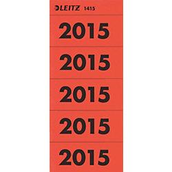 Inhaltsschildchen 14150025 6 x 2,55 cm Rot 100 Stück