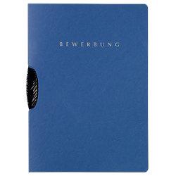 Bewerbungsmappe Swing DIN A4 Blau