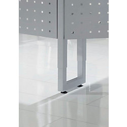 Tischbeine Verkürzbar VRFUK/S R-Serie Silber