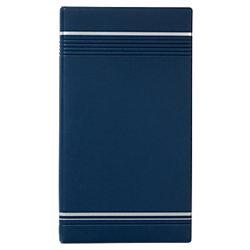 Visitenkartenbuch VISIFIX® 200 Karten Dunkelblau 14,5 x 25,5 cm