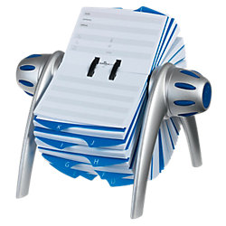 Telefonkarten-Rollarchiv Telindex® DIN A7 Silber 21,5 x 18,5 x 12 cm