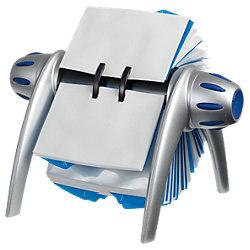 Visitenkarten-Rollarchiv Visifix® Flip DIN A7 Silber 21,5 x 18,5 x 12 cm