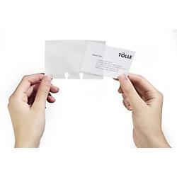 Nachfüllsatz für Visifix® Visifix DIN A7 Weiß 10,4 x 12 x 7,2 cm 40 Hüllen