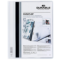 Angebotshefter Duraplus DIN A4 Weiß PVC