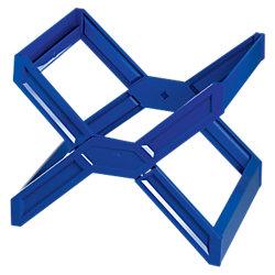 Hängemappen-Ständer Carry® Plus Blau 36 x 32 x 27 cm
