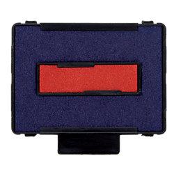 6/4430/2 Ersatzstempelkissen Blau/Rot 2 Stück