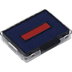 6/50/2 Ersatzstempelkissen Blau/Rot 2 Stück
