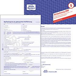 Kaufvertrag selbstdurchschreibend DIN A4 1 Satz