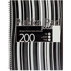 Notizblock Jotta JP018-SQ Farbig Sortiert 5 mm kariert DIN A4 3 Stück
