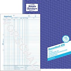 Kassenbuch 426 DIN A4 4-fach 100 Blatt