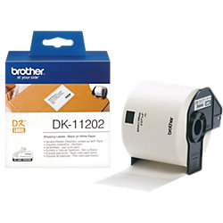 Adressetiketten DK11202 62 x 100 mm Weiß