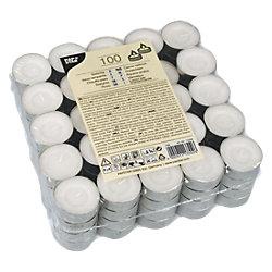 Teelichter Weiß 100 Stück