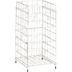 Handtuch-Sammelkorb 6925 30,6 x 30,6 x 61,2 cm Weiß