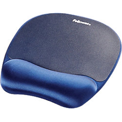 Mauspad Memory Foam Blau