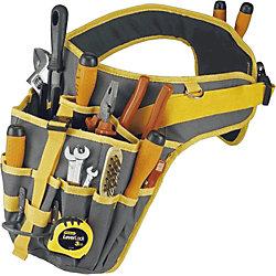Werkzeuggürtel/ TBELT, B500 x H200 x T50 mm, anthrazit/gelb, PP FABRIC