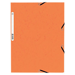Eckspanner BüroLine Orange DIN A4 24 x 32 cm 335 g/m²
