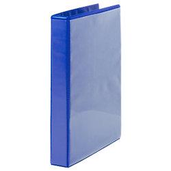 Präsentations-Ringbuch 2 Ringe DIN A4 Blau