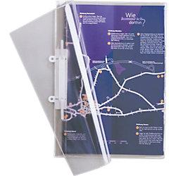 Abheft-Sichthefter 2512 DIN A4 Transparent Kunststoff