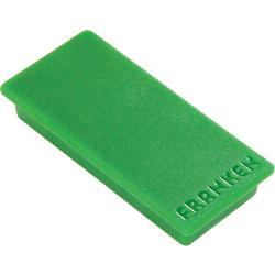 Rechteckmagnete Grün 5 x 2,3 cm 10 Stück