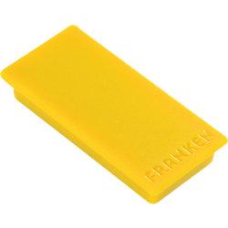 Rechteckmagnete Gelb 5 x 2,3 cm 10 Stück