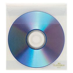 CD-/DVD-Hüllen Fix PP mit Schutzvlies, selbstklebend 10 CDs/DVDs Transparent 10 Stück