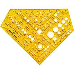 Aristo Schablone Metall AH5052, 70-AH5051, Metall