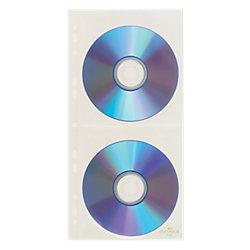 CD-/DVD-Hüllen Cover Light S PP 2 CDs/DVDs Transparent 5 Stück