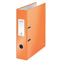 WOW 180° Ordner DIN A4 Orange Metallic 2 Ringe Ringe 80 mm 80 x 318 x 285 mm