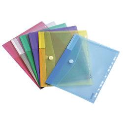 Umschläge TA510229 DIN A4 Farbig sortiert Polypropylen 12 Stück