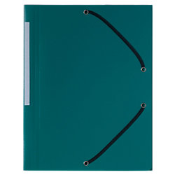 Kunststoff -Eckspann-Sammelmappe Forever® DIN A4 Grün Polypropylen