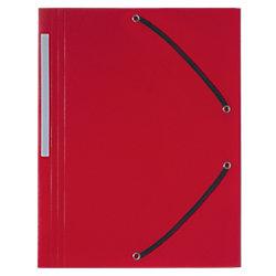Kunststoff -Eckspann-Sammelmappe Forever® DIN A4 Rot Polypropylen