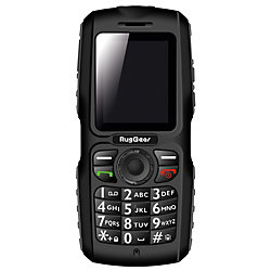 Mobiltelefon RG100 Schwarz