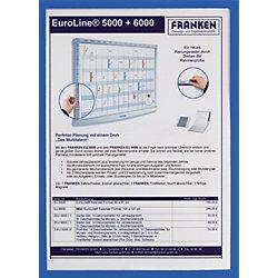 Dokumententaschen DIN A5 Blau 16,8 x 23 cm