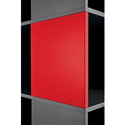 2 Magnettafeln Compactfile Rot 35,05 x 2,54 x 35,05 cm