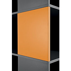 2 Magnettafeln Compactfile Orange 35,05 x 2,54 x 35,05 cm