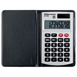 Office Depot Taschenrechner AT-809 5 2 x 10 x 1 1 cm Silber/Grau