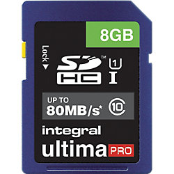 SDHC Karte UltimaPro 8 GB
