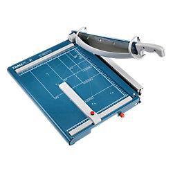 Hebel-Schneidemaschine 565, 00565-21286, blau, 475x355 mm, schneidet bis zu 40Blatt, Schnittlänge 390mm