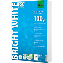 InkJet-Papier Bright White/IP125, A4, ultraweiß, 100 g/m², Inhalt 250 Blatt