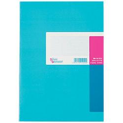 Spaltenbuch DIN A4 Kariert Blau 40 Blatt