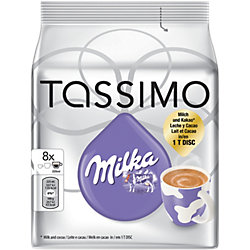 Heiße Schokolade Milka 8