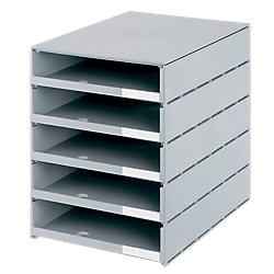 Schubladenbox Styroval Grau 246 x 335 x 323 mm